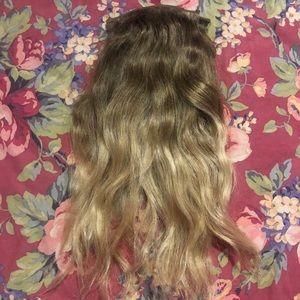 Ombré hair extensions 🌹